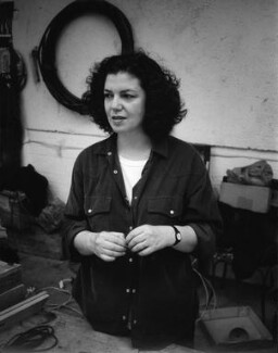 Mona Hatoum, by Johnnie Shand Kydd - NPG x87386