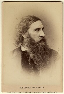 George MacDonald, by Elliott & Fry - NPG x29179