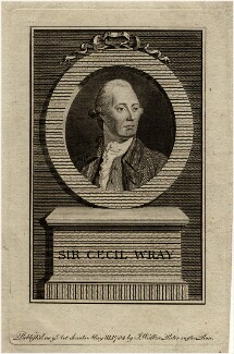 Sir Cecil Wray, Bt, after Unknown artist - NPG D11110