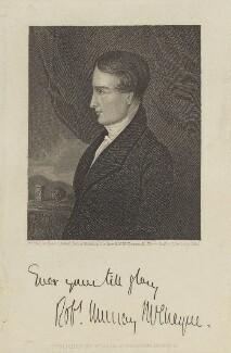 Robert Murray McCheyne, by John Le Conte, after  Hope James Stewart - NPG D11121