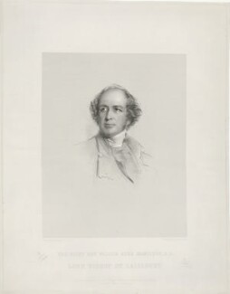 Walter Kerr Hamilton, by Francis Holl, printed by  McQueen (Macqueen), published by  Paul and Dominic Colnaghi, Scott & Co, published by  Walter Clapperton, after  George Richmond - NPG D11123