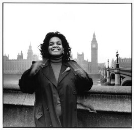 Diane Abbott, by Geoff Wilson, April 1992 - NPG  - © Geoff Wilson
