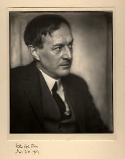 Walter de la Mare, by Herbert Lambert - NPG x1503