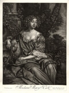 Mary (née Kirke), Lady Vernon, published by Alexander Browne, after  Sir Peter Lely, circa 1684 - NPG  - © National Portrait Gallery, London