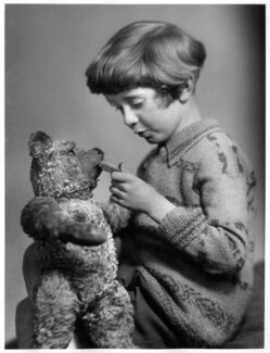 Christopher Robin Milne, by Marcus Adams, 14 March 1928 - NPG x36153 - © estate of Marcus Adams / Camera Press