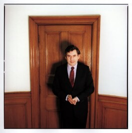Gordon Brown, by Harry Borden - NPG x88952