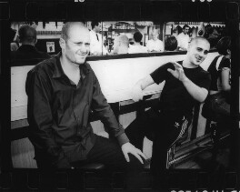 Jake Chapman; Russell Haswell, by Johnnie Shand Kydd - NPG x87680