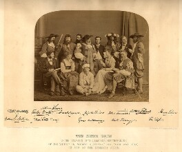 The Green Room, by London Stereoscopic & Photographic Company, 11 May 1867 - NPG x18489 - © National Portrait Gallery, London