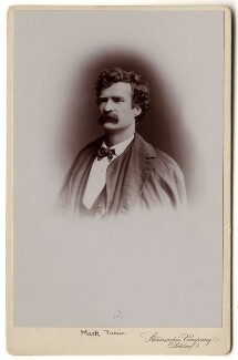 Mark Twain, by London Stereoscopic & Photographic Company - NPG x6162