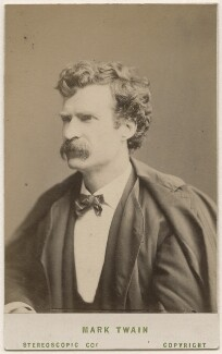 Mark Twain, by London Stereoscopic & Photographic Company - NPG Ax18235
