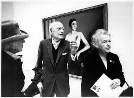 Constance Carrodus; Meredith Frampton; Winifred Radford, by Brian Harris, for  The Times, 1982 - NPG x88969 - © News International Newspapers Ltd