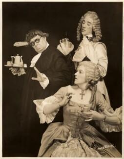 Frederick Edwin Woodhouse; Geoffrey Thomas Dunn; Winifred Radford, by Lucas & Pritchard - NPG x88973