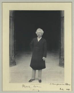 Mark Twain, by Benjamin Stone - NPG x35177