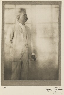 Mark Twain, by Alvin Langdon Coburn - NPG Ax7789