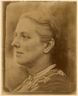 Charlotte Mary Yonge, by Reverend Duke Yonge - NPG x5575
