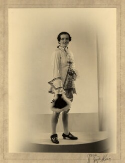 Winifred Radford as Cherubino, by Spidk Jaye King - NPG x88972