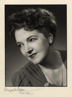 Winifred Radford, by Angus McBean, 1947 - NPG x88987 - Angus McBean Photograph. © Harvard Theatre Collection, Harvard University.