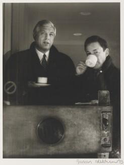 John Simpson; Nicholas Snowman, by Jillian Edelstein - NPG x125008