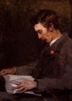 Stanhope Alexander Forbes, by Elizabeth Adela Forbes (née Armstrong) - NPG 6587