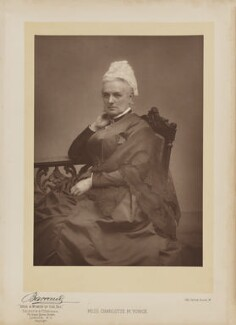 Charlotte Mary Yonge, by Herbert Rose Barraud, published by  Eglington & Co - NPG Ax27634