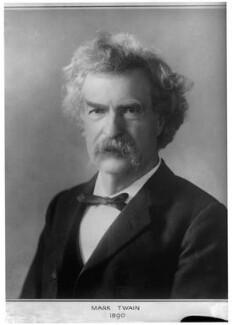 Mark Twain, by Elliott & Fry - NPG x81999