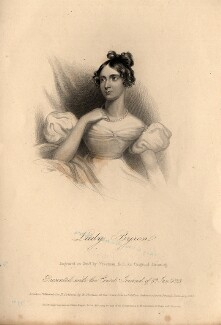 Anne Isabella, Lady Byron, by Samuel Freeman, published for  Henry Colburn, after  Unknown artist - NPG D11135