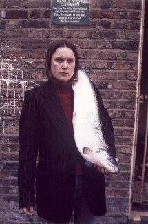 Sarah Lucas ('Got a Salmon On #3'), by Sarah Lucas - NPG P884(9)