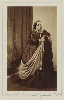 Julia Margaret Cameron, by Unknown photographer, circa 1868 - NPG P880 - © National Portrait Gallery, London