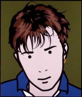 Damon Albarn, by Julian Opie, 2000 - NPG 6593(1) - © Julian Opie / DACS; Given by The Art Fund, 2001