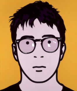 Graham Coxon, by Julian Opie - NPG 6593(2)