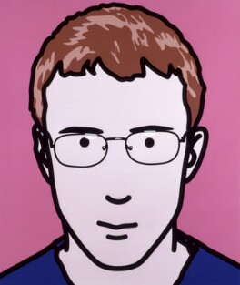 Dave Rowntree, by Julian Opie - NPG 6593(4)