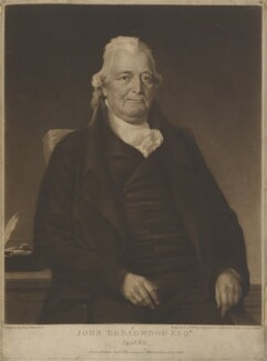 John Broadwood, by and published by William Say, after  John Harrison Jr - NPG D11138