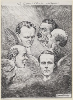 The Cabinet Cherubs, by Sir (John) Bernard Partridge, 1908 - NPG D11150 - Reproduced with permission of Punch Ltd