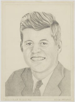 John Fitzgerald Kennedy, by Alex Minter - NPG D11151