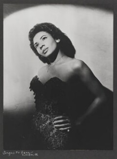 Shirley Bassey, by Angus McBean, 1959 - NPG  - Angus McBean Photograph. © Harvard Theatre Collection, Harvard University.