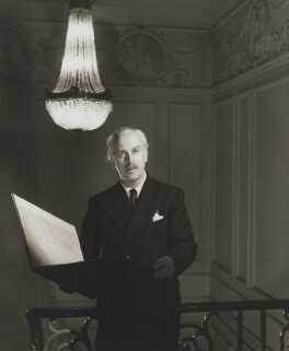 Sir Arthur Bliss, by Angus McBean - NPG P886