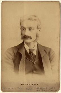 Andrew Lang, by Elliott & Fry - NPG x12148