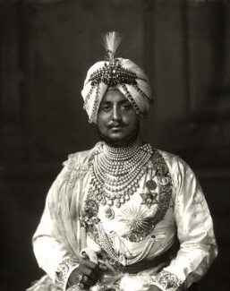 Sir Bhupinder Singh, Maharaja of Patiala, by Vandyk - NPG x98678