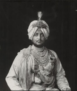 Sir Bhupindra Singh, Maharaja of Patiala, by Vandyk, 5 July 1911 - NPG x98674 - © National Portrait Gallery, London