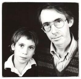 William McEwan; Ian McEwan, by Steve Pyke - NPG x45578