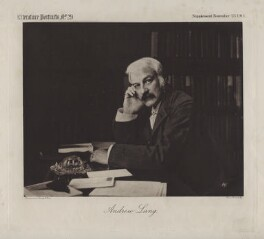 Andrew Lang, by Crowdy & Loud, after  Elliott & Fry - NPG x12149