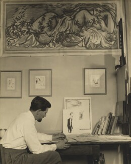 Ronald Searle, by Madame Yevonde - NPG x26393