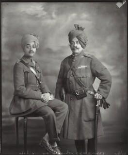 Shri Sumair Singhji Sahib Bahadur, Maharaja of Jodhpur; Sir Pertab Singhji, Maharaja of Idar and Regent of Jodhpur, by Vandyk - NPG x130798