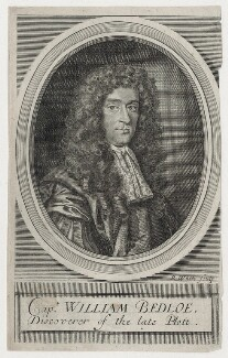 William Bedloe, by Robert White, after  Unknown artist - NPG D11168