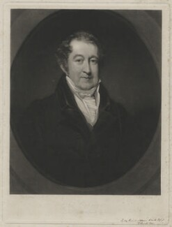 George Colman the Younger, by Thomas Goff Lupton, after  John Jackson - NPG D11171