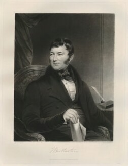 Joseph Brotherton, by Samuel William Reynolds Jr - NPG D11172