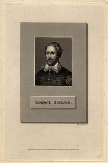 Edmund Spenser, by William Henry Worthington, after  Unknown artist - NPG D7640
