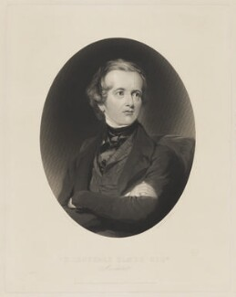 Harvey Lonsdale Elmes, by Thomas Oldham Barlow, after  Thomas Crane - NPG D11175