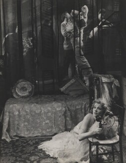 Vivien Leigh as Blanche DuBois in 'A Streetcar Named Desire', by Angus McBean - NPG P902