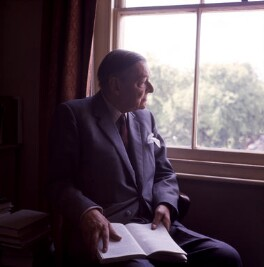 T.S. Eliot, by Ida Kar - NPG x125027